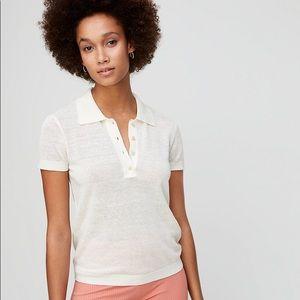 Wilfred Free (Aritzia) 'Tayla' Semi-Sheer Knit Top